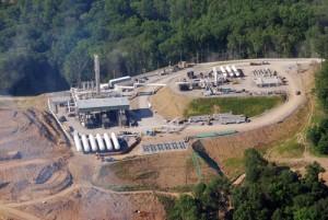 'Fracking' en Marcellus Shale, EE.UU.