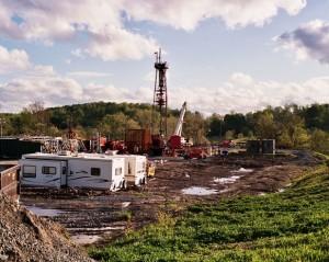 Plataforma de 'fracking' en Pennsylvania, EE.UU.