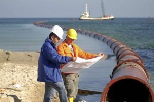 El EIA de Aratirí incluye un emisario submarino para descarga de aguas contaminadas de las minas en el océano.