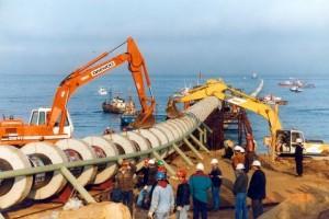 """La """"solución final"""" que propone Aratirí para las aguas ácidas del distrito minero es descargarlas en el océano por un emisario submarino de 2,5 kilómetros."""