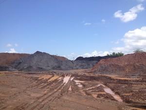 Depósitos de mineral de hierro